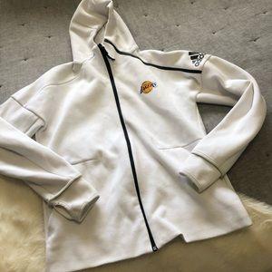 Adidas ZNE Lakers jacket primeknit hoodie sz.M